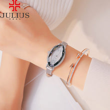 Lady Women's Watch 5 Colors Japan Quartz Cutting Hours Best Fashion Dress Bracelet Leather Crystal Valentine Gift Julius Box - www.rentpadofw.com