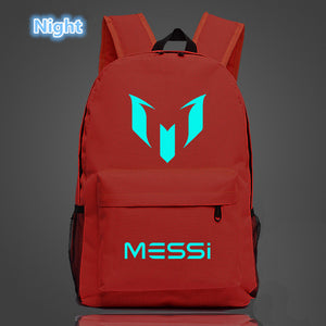Free Shipping Messi Backpack Footbal Bag men Boys Travel Gift Kids Bagpack Mochila Bolsas Escolar - www.rentpadofw.com