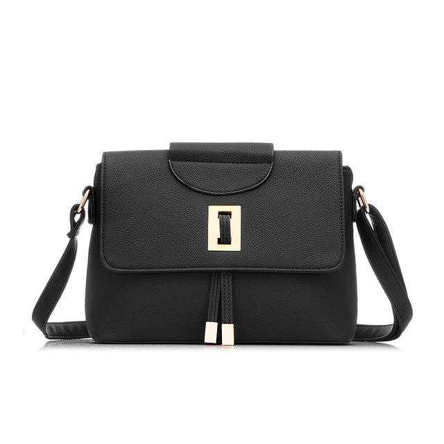 LOVEVOOK brand fashion female shoulder crossbody bag high quality messenge bag for women 2017 ladies zipper handbag - www.rentpadofw.com