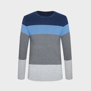 2017 New Autumn Winter Fashion Brand Clothing Men's Sweaters O-Neck Slim Fit Men Pullover 100% Cotton Knitted Sweater Men M-5XL - www.rentpadofw.com