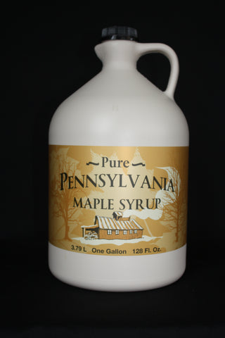 Grade A: Amber Color / Rich Flavor Maple Syrup