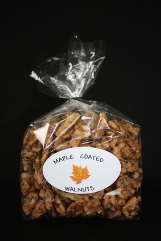 Maple Coated Walnuts