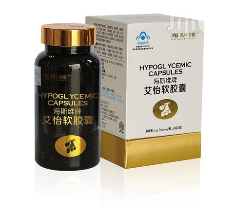 Hypoglycemic Herbal Capsule - hasedorganics