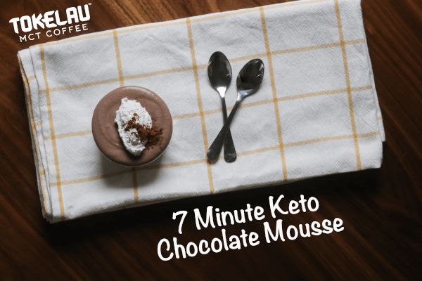 7 Minute Keto Chocolate Mousse
