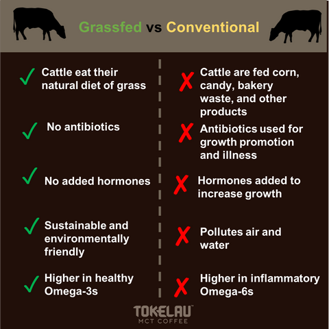 Grassfed vs Conventional