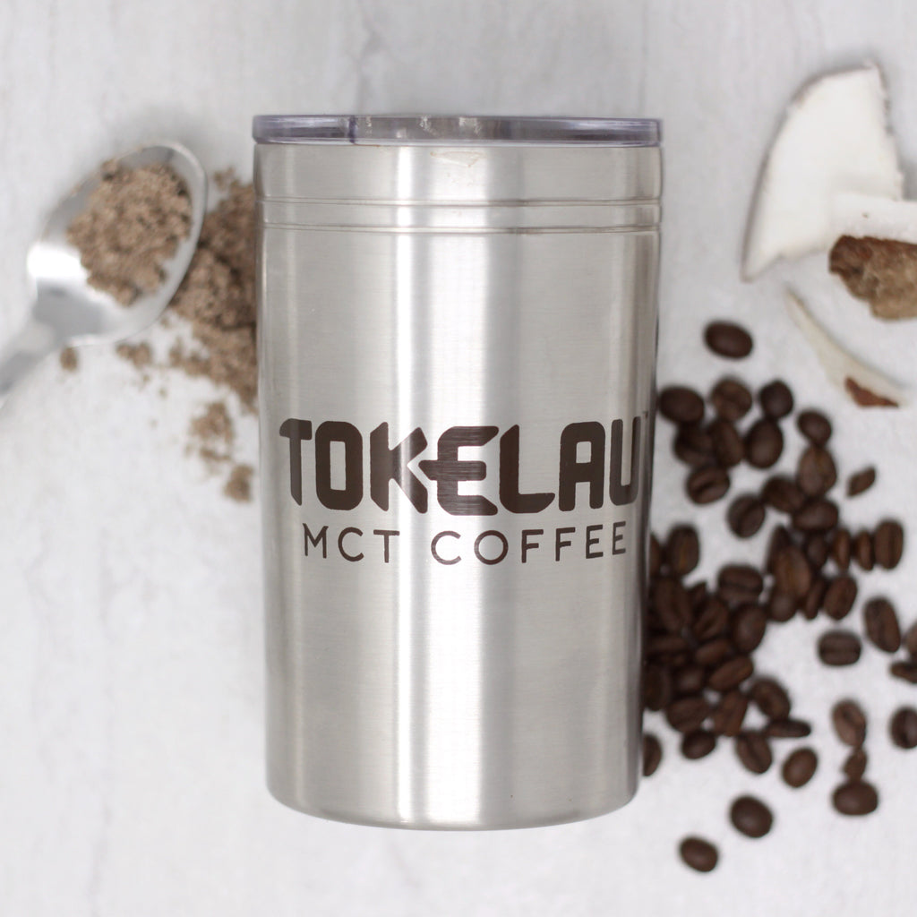 Premium Stainless Steel Tokelau MCT Coffee Travel Mug