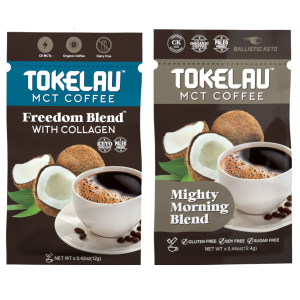 Tokelau MCT Coffee sample packets