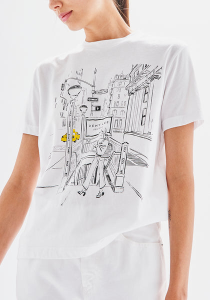 DLNY Graphic T-Shirt