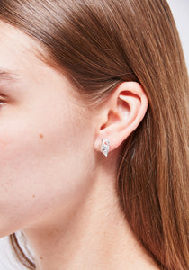 Mini Shell Stud Single Earring - Sterling Silver
