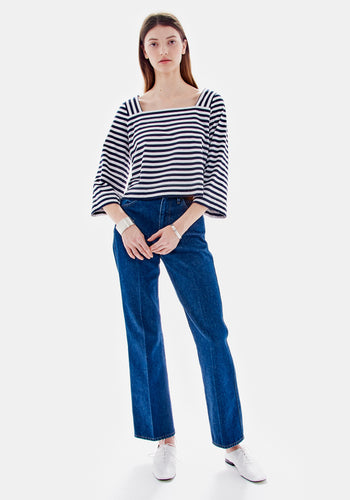 Elliotte Stripe Top