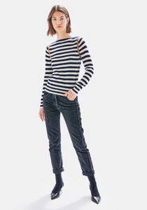 Angie Stripe Sweater