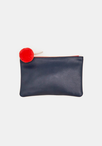DEMYLEE x CLARE V. Wallet Clutch in Red