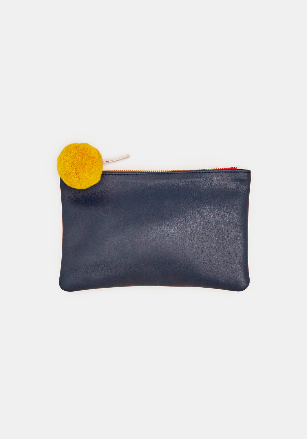 DEMYLEE x CLARE V. Wallet Clutch in Yellow