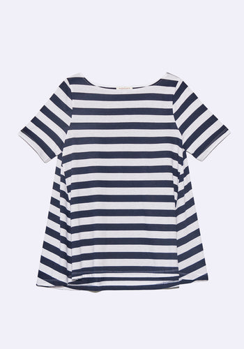 Claude Stripe Top