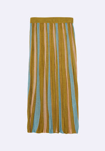 Helen Stripe Skirt
