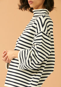 Agata Stripe Sweater