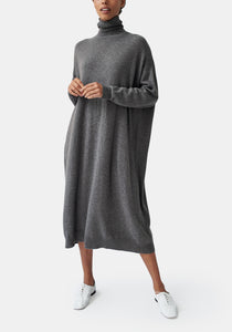 Aurelia Turtleneck Dress