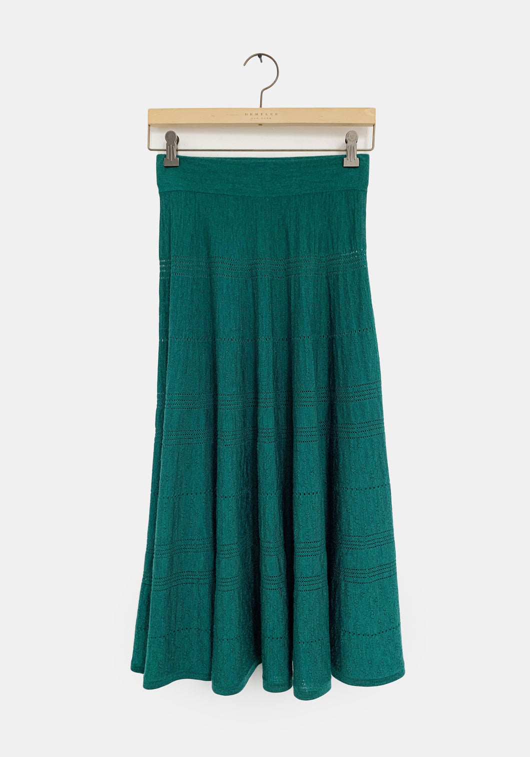 Simone Skirt - Emerald Green