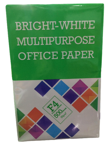 BRIGHT-WHITE BOOK PAPER 70GSM 20SUB (LEGAL SIZE 8.5 X 13)