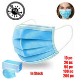 Disposable Face Mask Dental Industrial 3-Ply Ear Loop