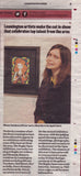 Naive Art Painting published in Leamington Courier.
