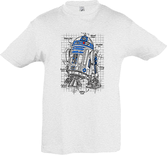 T-Shirt R2D2 Star wars