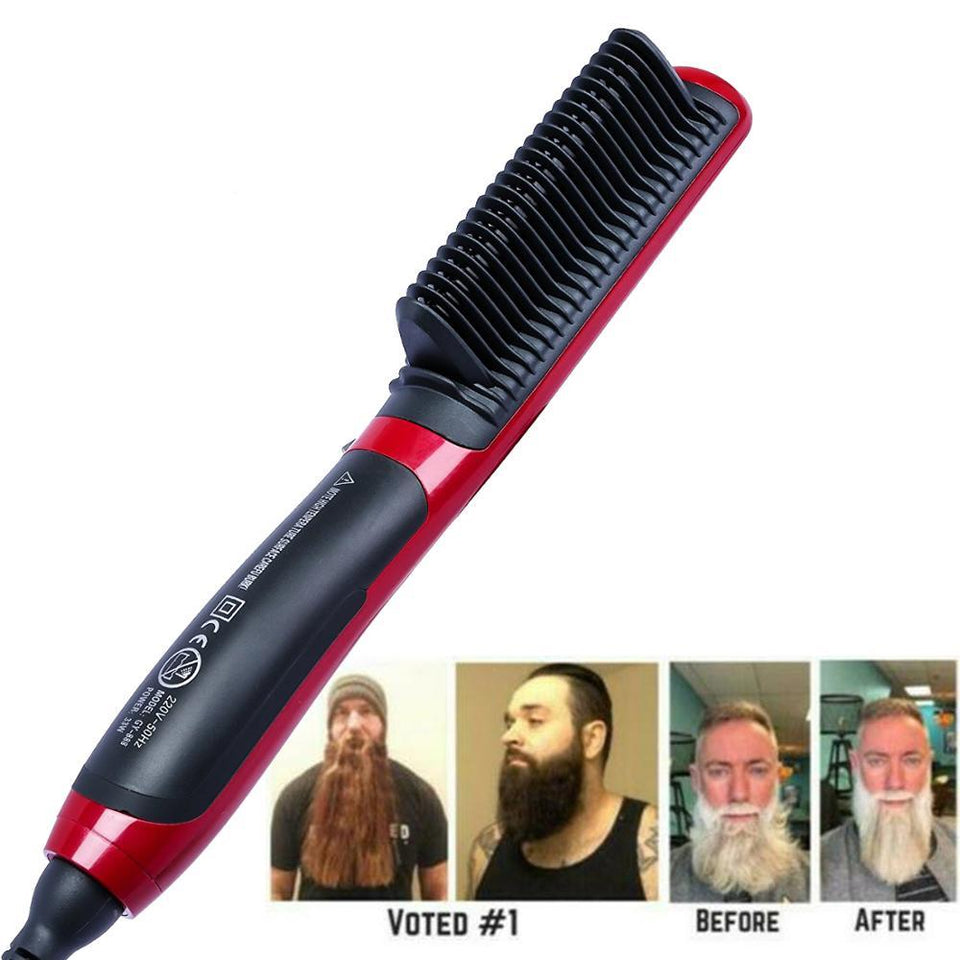 The Majestic 2™ Beard Straightener Brush Beard Straightener Brush 2 Timeless Matter