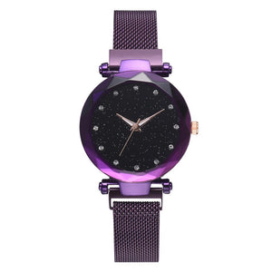 Galaxy - Quartz Watch For Women Timeless Matter black