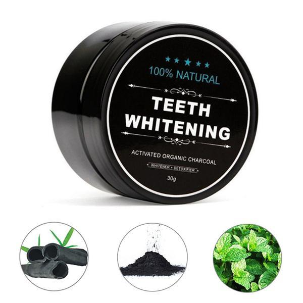 Teeth Whitening Charcoal Powder Charcoal Powder Timeless Matter