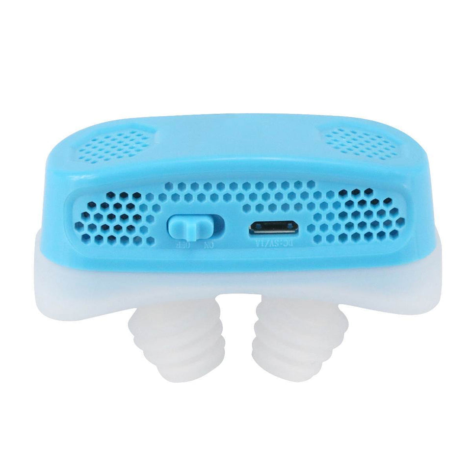 Electric Anti Snore Device - Timeless Sleep V2.0 Timeless Matter Blue