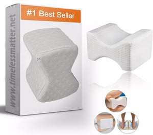 Knee Pillow - Orthopedic Memory Foam Knee Pillow Knee Pillow Timeless Matter