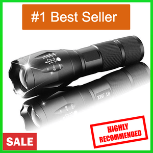 Best Led Flashlight | Military Grade Flashlight