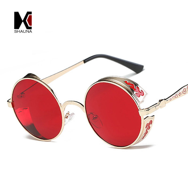 Metal-Framed Steampunk Glasses — Multiple Colors