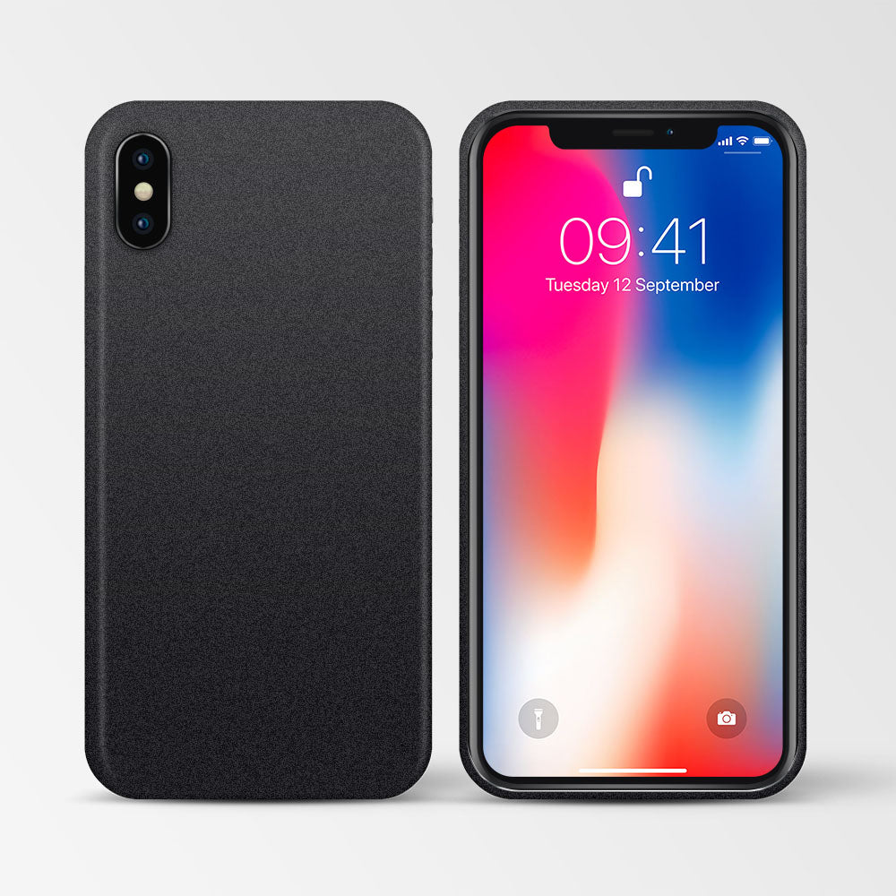 super thin black iPhone X case