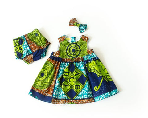 African clothing | Ankara fabric clothing | African kids clothing