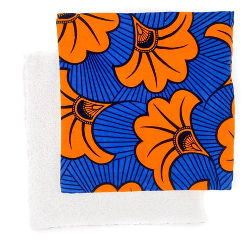 Orange Hibiscus | Reuseable wipes