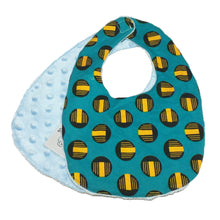 Load image into Gallery viewer, Oboto | African ankara print baby bib with velcro fastening - Muffin Sisters