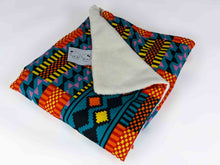 Load image into Gallery viewer, Ecru soft minky African baby blanket - Muffin Sisters