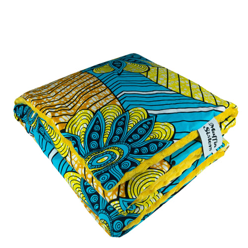Mugasa |  Toddler blanket & pillow set - Muffin Sisters