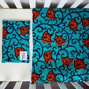 Leza |  Toddler blanket & pillow set - Muffin Sisters