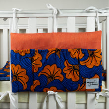 Load image into Gallery viewer, Orange Hibiscus | Bed Organizer - Muffin Sisters