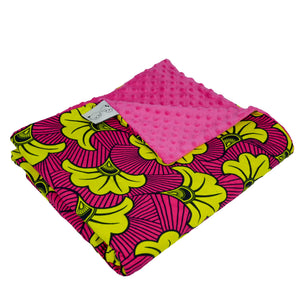 Yellow Hibiscus | Throw blanket - Muffin Sisters