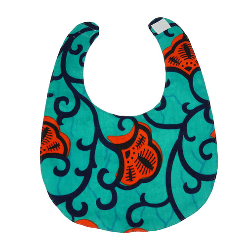 Leza | Baby bib with velcro fastening - Muffin Sisters