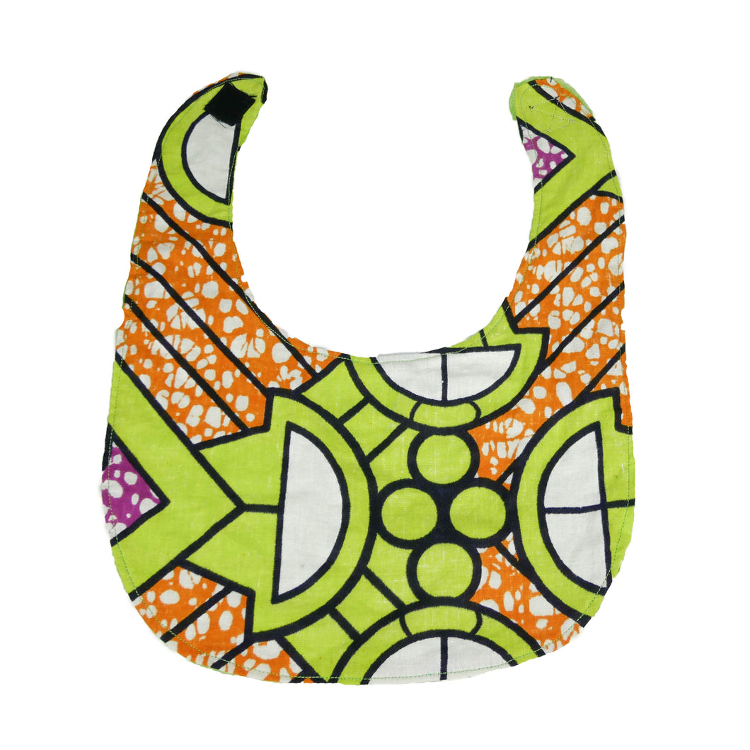 | Baby bib with velcro fastening - Muffin Sisters