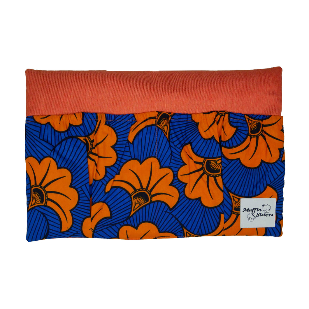 Orange Hibiscus | Bed Organizer - Muffin Sisters