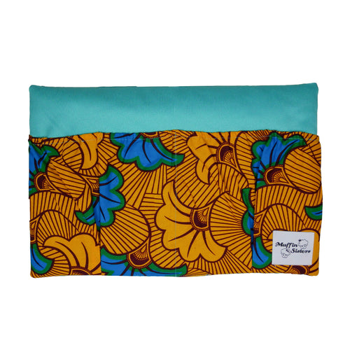 Blue Hibiscus | Bed Organizer - Muffin Sisters