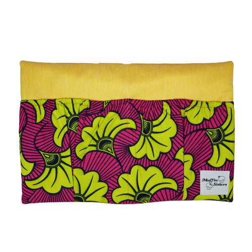 Yellow Hibiscus | Bed Organizer - Muffin Sisters