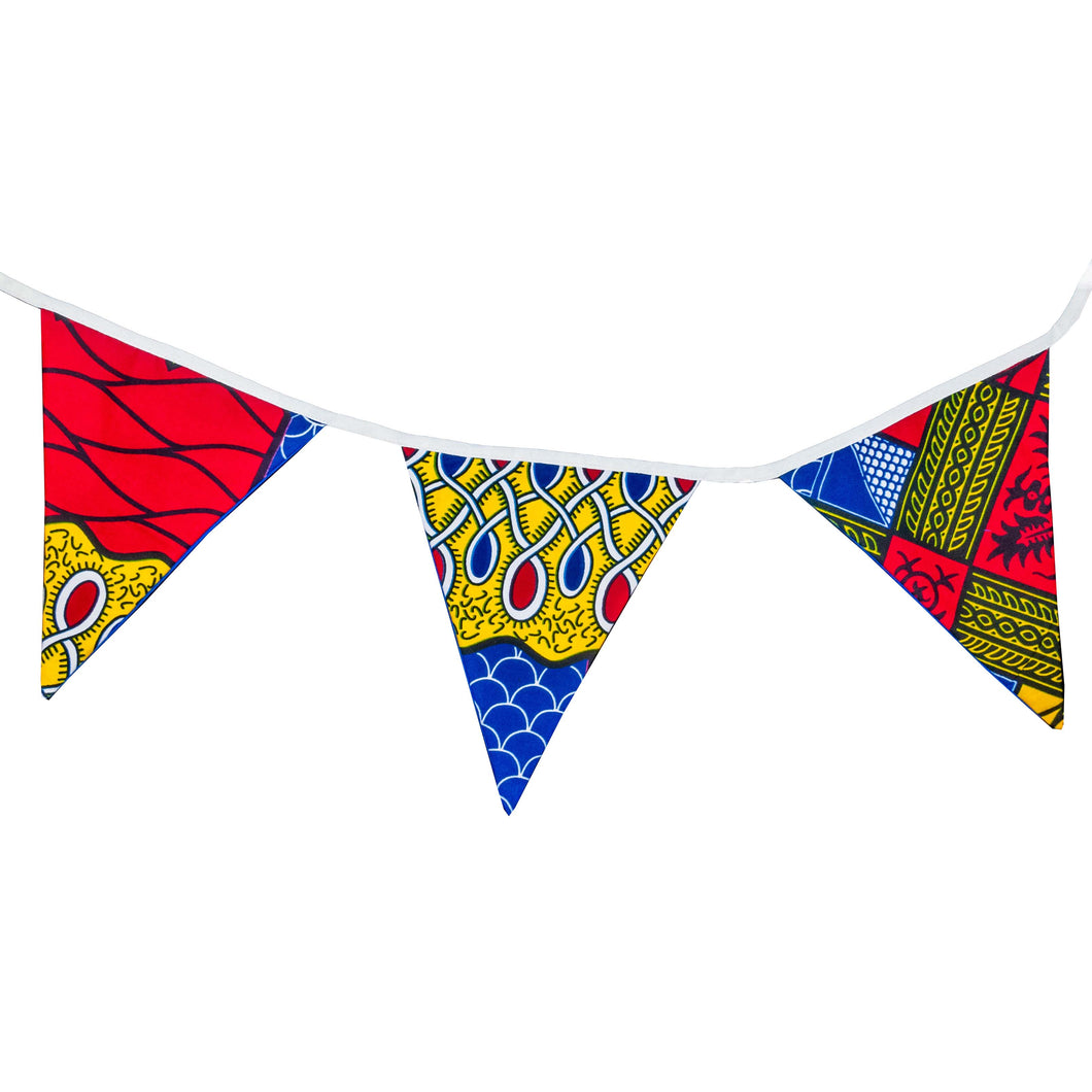 Sango | African print bunting - Muffin Sisters