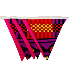 Load image into Gallery viewer, Small African print bunting - Muffin Sisters