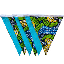Load image into Gallery viewer, African print bunting - Muffin Sisters